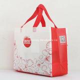 Bolso de compras plegable no tejido promocional del bolso del diseño de la manera