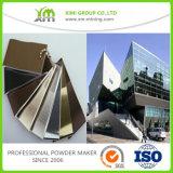 Rivestimento architettonico elettrostatico della polvere dell'alluminio & del ferro saldato