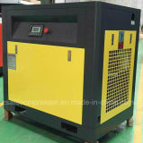 75kw/100HP二重段階の空気冷却対ねじ回転式圧縮機