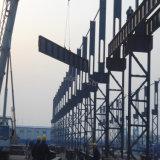 Magazzino prefabbricato di montaggio chiaro della struttura d'acciaio da vendere