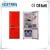 Refrigerador do refrigerador 138L da porta dobro com para baixo o congelador