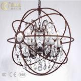 Luz de pendente de arte de metal de design moderno