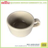 Tasse de café de mélamine de couleur solide d'utilisation de café