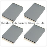 gris Glass&Color teñido bronce de 4m m de cristal para la decoración/el edificio