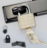 Стальной Padlock с латунным цилиндром и ключом