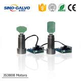 Cabeça Js3808 do Galvo da estaca do laser para o mini equipamento da estaca do laser para a empresa de pequeno porte