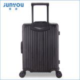 Junyou 새로운 품목 여행 Duffle 트롤리 여가 알루미늄 20 24 인치 여자의 여행 가방 수화물