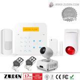 Беспроволочная домашняя аварийная система обеспеченностью GSM взломщика с удостоверением личности контакта