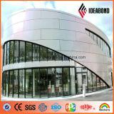PE PVDF enduisant le panneau composé en aluminium extérieur intérieur de façade