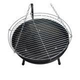 Вися решетка BBQ угля регулируемой цепи высоты напольная