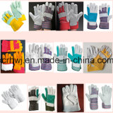 De industriële Korte Werkende Handschoenen van het Leer van de Zweep, de Werkende Handschoenen van de Veiligheid, 10.5 '' herstelde Handschoenen van het Leer van de Palm, Werkende Handschoen van de Palm van het Leer van de Koe de Gespleten Volledige, de Handschoenen van de Bestuurder