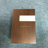 Contenitore di regalo di legno con il coperchio provvisto di cardini per monili/vigilanza/il tè