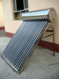 Sistema solare del riscaldamento dell'acqua dell'acciaio inossidabile di garanzia di 8 anni