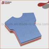 Personalizar a impressão dada forma letra da fábrica da almofada de memorando