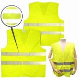 Het Vest van de Verkeersveiligheid met Horizontale Weerspiegelende Band Twee (DFV1007)