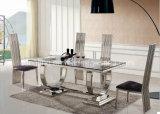 Muebles del comedor del mármol de la tapa del diseño moderno para la venta A8026
