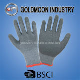 10g 2 Threads Grey Liner Grey Latex Gloves