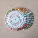 Wiel dat Spelden van de Revers van het Huwelijk van 55mm de Kleurrijke Hart Gevormde inpakt