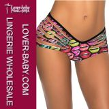Mulheres Semi Thong Bottom Swimsuit Panty (L91292-5)