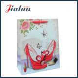 packing Shopping Carrier de la señora impresa de papel 4c bolsos del regalo de Shoe