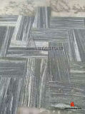 Nero Santiago Granite Flooring Tiles para Outdoor Driveway, Walkway