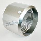 Acoplador de aluminio de torneado de anodización del CNC