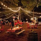 庭のための長い地球ストリングライト、ホーム、結婚式、クリスマス・パーティ