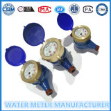 Do medidor material do volume de água do molde tipo seco para a água fria Dn15