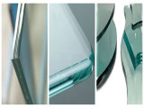 Horizontale CNC-spezielle Form-Glaskantenschleifmaschine