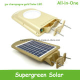 Lumière solaire Integrated accessible de route de jardin de DEL avec le détecteur