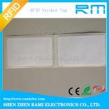 Etiqueta pasiva de la frecuencia ultraelevada RFID del pegamento del extranjero H3 de ISO18000-6c