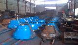 De Afdekplaat van de Maalmachine van de kegel en de Voering van de Kom/Concaaf met Uitstekende kwaliteit