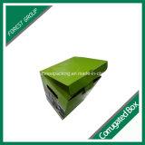 Mayor superficie de impresión en color brillante de la caja de papel corrugado para embalaje