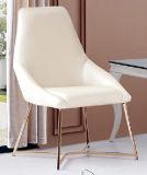 金ステンレス鋼フレームが付いている現代PUの椅子