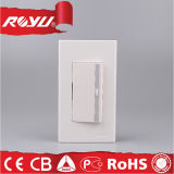House Office Hotel Use Wall Switch, 10A 2 Gang 3 Way / 2 Gang 1 Way Electric Switch Switch Light Light