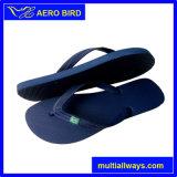 Plain coloreó los zapatos de la sandalia del deslizador del PE de la playa para el hombre (T1580)