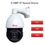 HD de videoIP Camera van de Koepel van kabeltelevisie van de Camera 5.0MP