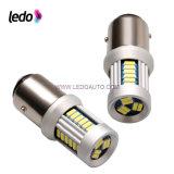 Bulbo automotriz do diodo emissor de luz de Turbo 30* 4014SMD Canbus (T20-1156-Ba15s)