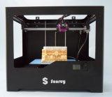 Sale chaud Big Building Volume Double Nozzle 3D Printer Machine
