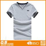 Camiseta del deporte de la mezcla de los hombres