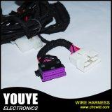 De aangepaste Uitrusting van de Draad van de Kabel van AWG 28 van 3m Ronde Beklede Vlakke