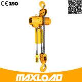 Grua Chain elétrica de 3 toneladas com tipo fixo do gancho (HHBB03-01SF)