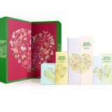 Natale Rigid Paper Cardboard Packaging Gift Box per Cosmetic, Tea