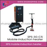 SPSの移動式誘導加熱機械