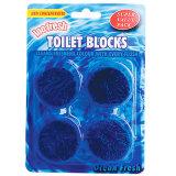 Bloco azul 50g/PCS do toalete do desodorizante