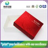 Caixa de empacotamento da impressão lustrosa da laminação para o cosmético
