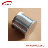 Carrete sanitario de la abrazadera de la instalación de tuberías de acero inoxidable tri con la parte inferior soldada