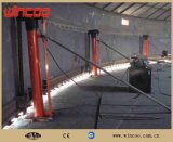 Sistema de levantamento com macaco hidráulico para a construção do tanque/sistema de levantamento hidráulico automático do CNC