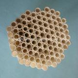 Pipa de cerámica eléctrica industrial Al2O3 del aislamiento el 95%