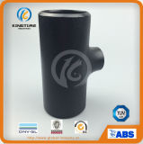 Ajustage de précision de pipe de Reducingtee d'acier du carbone d'ASME B16.9 A234 Wpb (KT0040)